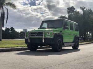 Аренда MERCEDES-BENZ G63 AMG в Майами