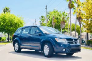 Аренда DODGE JOURNEY BLUE в Майами