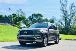 Аренда INFINITI QX80 2019 в Майами